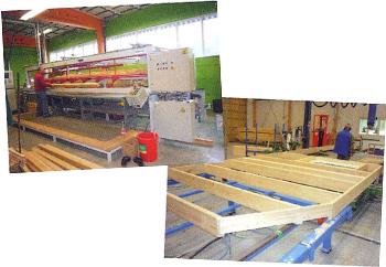 ハイリッヒに使用する木材